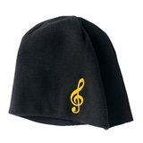 Treble Clef Knitted Cap