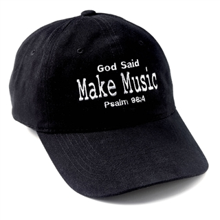 God Said Make Music Ball Cap