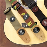 Canvas & Suede Guitar Strap