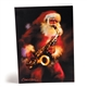 Greeting Cards 'Santa With a Sax'