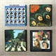 Beatles Album Art Magnet Set