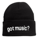 Got Music? Knitted Cap