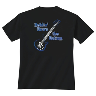 Bass 'Holdin' Down the Bottom' T-Shirt