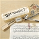 Got Music Pencil Case with Desk Accessories