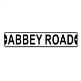 "Abbey Road 24"" Metal Street Sign"