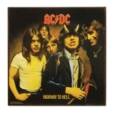 AC/DC Highway to Hell Metal Sign