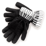 Ebony and Ivory Gloves