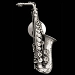 Alto Sax Pewter Accessories