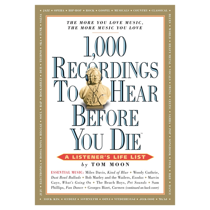 Image result for 1 000 recordings to hear