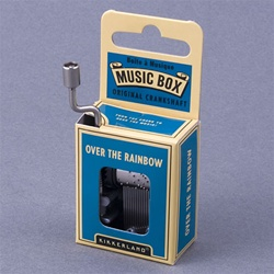 'Over The Rainbow' Crankshaft Mini Music Box