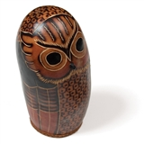 Mother Owl Peruvian Shaker