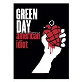 Green Day American Idiot Textile Poster