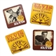 Elvis Sun Records Coasters