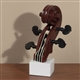 Violin Scroll and Pegs Sculpture