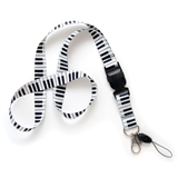 Piano Keyboard Lanyard