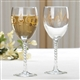 Treble Clef Glass Wine Goblet