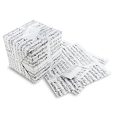 Black on White Sheet Music Gift Wrap