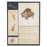 Baby Grand Pin & Greeting Card