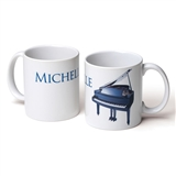 Personalized Instrument Coffee Mug