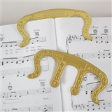 Brass Sheet Music Page HOlder