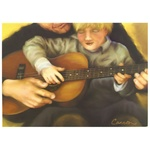 Greeting Card 'My Father's Guitar'