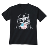 Lincoln on Drums T-Shirt