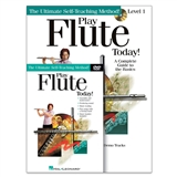 Play Flute Today Book, CD & DVD Set