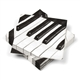 Piano Keys Beverage Napkins