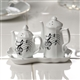 Coffee and Tea Salt & Pepper Shakers