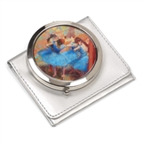 Degas' Dancers In Blue Compact Mirror