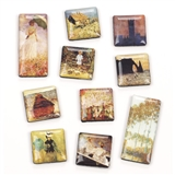Monet Paintings Magnets