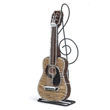 Beadwork Acoustic Guitar Figurine