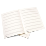 8-Stave Double Folded Music Score Sheets