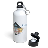 Personalized Illustrated Arts Water Bottle