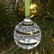 Pewter Musical Bulb Ornament