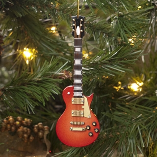 LP Style Guitar Ornament