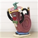 French Horn Teapot
