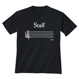 Music Staff T-Shirt
