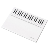 Piano Keys Sticky Notes Mini-Pad