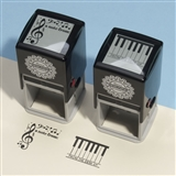 Piano Keys Self-Inking Stamp
