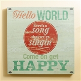 Come On, Get Happy Wall Art