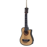 Wood Acoustic Guitar Ornament