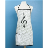 Sheet Music Apron