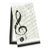 Sheet Music Tea Towel