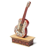 Jim Shore Mini Guitar Figurine