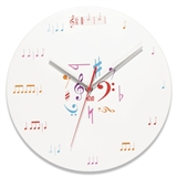 6/8 Time Wall Clock