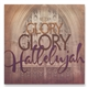 Glory Glory Hallelujah Lyrics Wall Art