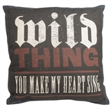 Wild Thing Pillow