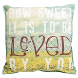 How Sweet It Is Pillow