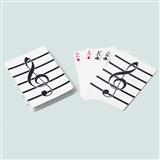G-Clef Playing Cards